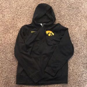 Black Nike Hawkeye zipup